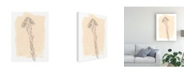 "Trademark Global Jennifer Goldberger Branch on Blush I Canvas Art - 15"" x 20"""