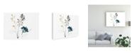 "Trademark Global June Erica Vess Navy Garden Inspiration I Canvas Art - 20"" x 25"""