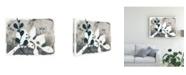 "Trademark Global June Erica Vess Navy Garden Inspiration V Canvas Art - 15"" x 20"""