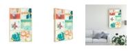 """Trademark Global June Erica Vess Gallery Petite III Canvas Art - 15"""" x 20"""""""