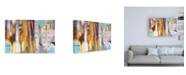 "Trademark Global Jan Griggs Wine Time Too Canvas Art - 15.5"" x 21"""