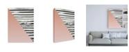 """Trademark Global Design Fabrikken Triangle 1 Fabrikken Canvas Art - 19.5"""" x 26"""""""