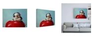"""Trademark Global Lucia Heffernan Apple Music Canvas Art - 15.5"""" x 21"""""""