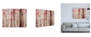 "Trademark Global Brooke T. Ryan Pink & Brown Fantasy Forest Canvas Art - 19.5"" x 26"""