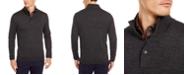 Tasso Elba Men's Solid Merino Wool Blend Mock-Collar Sweater, Created for Macy's
