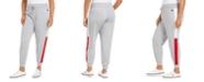 Tommy Hilfiger Plus Size Varsity-Panel Sweatpants