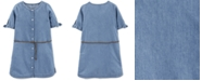 Carter's Little & Big Girls Denim Shirtdress