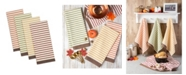 Design Import Harvest Prep Stripe Woven Dishtowel Set