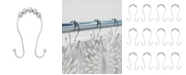 Kenney Beaded Roller Shower Curtain Double Hooks