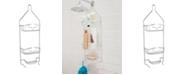 Kenney Rust-Proof Heavy Duty Aluminum 2-Tier Hanging Shower Caddy