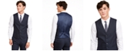 INC International Concepts INC Men's Slim-Fit Micro Check Suit Vest, Created for Macy's