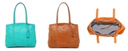 OLD TREND Dancing Leather Tote Bag
