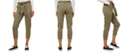 O'Neill Juniors' Billion Belted Cropped Pants
