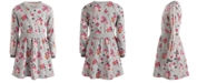 Epic Threads Big Girls Floral-Print Sweatshirt Dress, Created For Macy's