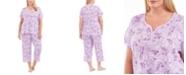 Charter Club Plus Size Capri Cotton Pajama Set, Created For Macy's