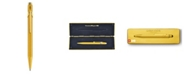 CARAN d'ACHE 849 Ballpoint Pen, Goldbar with Box
