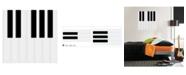 WallPops Piano Keys Wall Art Kit