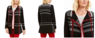 Charter Club Plaid Open-Front Cardigan, Created For Macy's