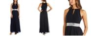 R & M Richards Embellished Gown