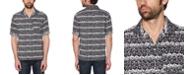 Original Penguin Men's Slim-Fit Striped Camp Shirt