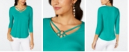 Thalia Sodi Ring-Hardware Strappy Top, Created for Macy's