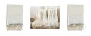 Saro Lifestyle Foil Print Design Throw