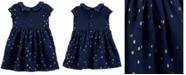 Carter's Baby Girls Crepe Glitter Dot Dress