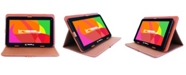 """LINSAY 10.1"""" New Tablet Quad Core 16 GB Android 6.0 Bundle with Leather Case"""