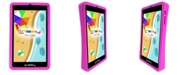 "LINSAY 7"" New Kids Funny Quad Core Android 6.0 Tablet with Defender Case Dual Cameras"
