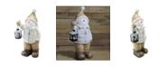 Northlight Cheerful Snowman with Lantern Christmas Decoration