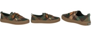 Sperry Women's Crest Vibe Plaid Wool Sneakers