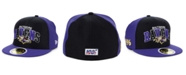 New Era Boys' Baltimore Ravens On-Field Sideline Home 59FIFTY-FITTED Cap