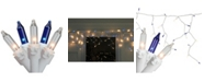 Northlight Set of 50 Mini Window Curtain Icicle Christmas Lights