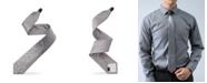 Modern Tie Men's Geometrix Pattern Slim Single Tie