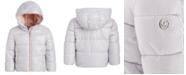 Michael Kors Baby Girls Pearlized Puffer Jacket
