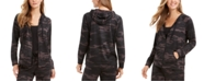 Style & Co Plus Size Camo-Print Hoodie, Created for Macy's