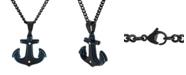 Macy's Men's Anchor Pendant Necklace