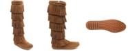 Minnetonka 5 Layer Fringe Narrow Boot