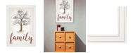 "Trendy Decor 4U Family Tree by Marla Rae, Ready to hang Framed print, White Frame, 15"" x 21"""