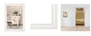 "Trendy Decor 4U Fresh Laundry by Lori Deiter, Ready to hang Framed Print, White Frame, 15"" x 21"""