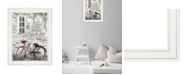 """Trendy Decor 4U Life is a Journey by Lori Deiter, Ready to hang Framed Print, White Frame, 15"""" x 19"""""""
