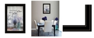 """Trendy Decor 4U Where There is Love by Lori Deiter, Ready to hang Framed Print, Black Frame, 15"""" x 21"""""""