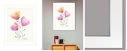 """Trendy Decor 4U Grow Through It by Kait Roberts, Ready to hang Framed Print, White Frame, 15"""" x 19"""""""