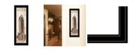 "Trendy Decor 4U New York Panel by Cloverfield Co, Ready to hang Framed Print, Black Frame, 8"" x 23"""
