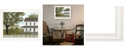 """Trendy Decor 4U Green, Green Grass of Home by Billy Jacobs, Ready to hang Framed Print, White Frame, 27"""" x 21"""""""