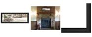 "Trendy Decor 4U Winter By John Rossini, Printed Wall Art, Ready to hang, Black Frame, 21"" x 9"""
