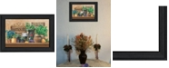 """Trendy Decor 4U Trendy Decor 4U Antiques and Herbs By Ed Wargo, Printed Wall Art, Ready to hang, Black Frame, 15"""" x 11"""""""