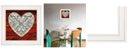 """Trendy Decor 4U Love is Patient by Cindy Jacobs, Ready to hang Framed Print, White Frame, 15"""" x 15"""""""