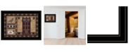 Trendy Decor 4U Trendy Decor 4U Primitive, Ready to hang Framed Print, Black Frame, 19x 15