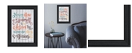 """Trendy Decor 4U Never Allow Yourself by SUSAn Ball, Ready to hang Framed Print, Black Frame, 15"""" x 19"""""""